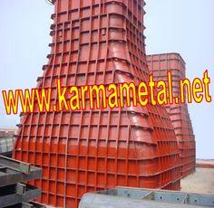 KARMA METAL beton kalıpları beton yapılarda kolon ,kiriş kesitlerinin yuvarlak,dairesel,elips,altıgen vb... formlarda çıkarılabilmesi için çelik beton kalıpları kullanılmaktadır.Cnc lazer sac kesim veya abkant silindir makinaları ile yarım parçalı demonte kalıp imalatıda yapılabilmektedir.