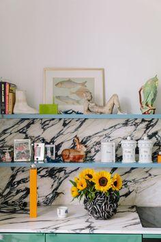 Belgian design duo Muller Van Severen construct poetic furniture that is rooted in surrealism Interior Exterior, Home Interior, Kitchen Interior, Interior Architecture, Kids Furniture, Furniture Design, Furniture Decor, Danish Kitchen, Warm Kitchen