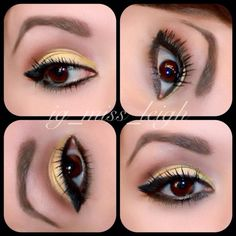 Black and Gold eotd created with Younique all-natural mineral pigments... Those lashes? 3D Fiber Lash mascara - that's it! No mess, no glue, no falsies... just Fabulous! Click website to get yours! (Or ask me how you can try our great products for free)