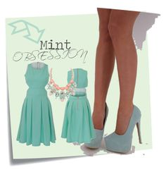 """""""VIP Mint Obsession By VickyPattison"""" by honeyzuk on Polyvore featuring Post-It, vickypattison, VIPCollection, HoneyzUK and WeShipWorldWide"""