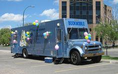 Birthday Bookmobile, Lethbridge (Alberta) Public Library, 2010.