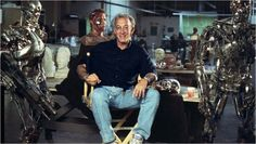 Stan Winston and friends during the making of TERMINATOR 2:JUDGMENT DAY.