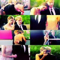 Emma & Rupert via we heart it