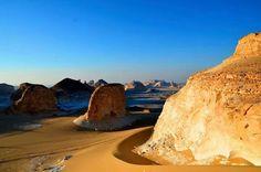 White desert national park, Farafra oasis, Western Desert, Egypt