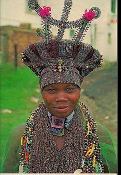 Zulu woman, 1940's