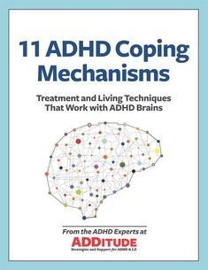 Your Free Guide to ADHD Coping Mechanisms Most people don't understand how an ADHD brain is wired. Well-meaning parents, teachers, and spouses suggest organization or concentration techniques that work for them and then they're surprised (even angry) when Adhd Odd, Adhd And Autism, Adhd Help, Adhd Diet, Adhd Brain, Attention Deficit Disorder, Adhd Strategies, Back In The Game, Adult Adhd