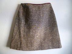 60's Vintage Bobbie Brooks Wool Mini Skirt S/XS by LifeOnArborLane