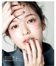 Japanese makeup look Makeup Trends, Makeup Inspo, Makeup Inspiration, Makeup Ideas, Makeup Tutorials, Beauty Make-up, Asian Beauty, Hair Beauty, Make Up Looks