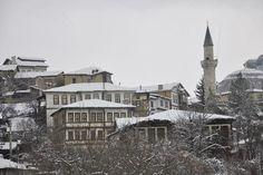 Historic houses under the snow. #Taraklı Since the 15 th century.  #Sakarya #Turkey Photo by  Taraklı Municipality