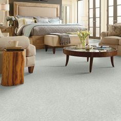 Carpet Details Page | HGTV Home Flooring by Shaw | Relaxing Escape TV302 Sea Glass