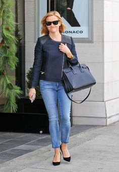 Cómo sacar partido a tus jeans según Reese Witherspoon - Reese Witherspoon