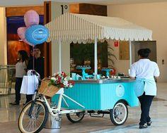 Resultado de imagen para cupcake business on bike