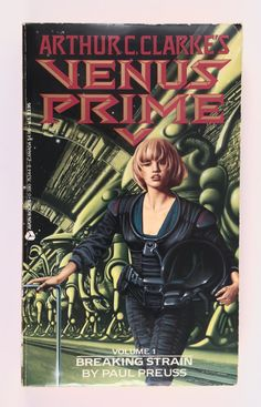 Venus Prime, Arthur C Clarke, Science Fiction Paperback, Vintage Book, Preuss, First Avon Printing, Volume 1, Breaking Strain by BarnabyGlenVintage on Etsy