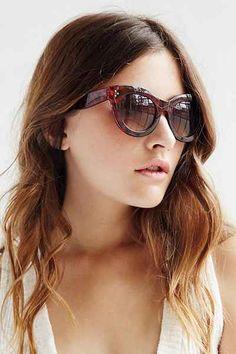 8173e626f27e7 Alice Chunky Cat-Eye Sunglasses Urban Outfitters Sunglasses