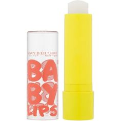 Maybelline Baby Lips Lip Balm Intense Care ($4.68) ❤ liked on Polyvore featuring beauty, makeup, lip and intense care