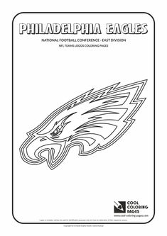 philadelphia eagles coloring pages for kids | Houston Rockets logo NBA coloring pages | Sports Coloring ...