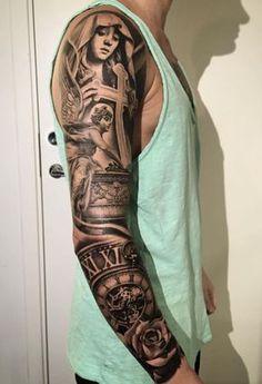 Stunning Sleeve Tattoo