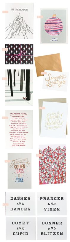 Holiday Cards – Part 7 - Design Crush