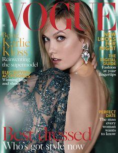 Karlie Kloss, Vogue Magazine [United Kingdom] (December 2015)