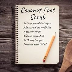 Making a homemade foot scrub with coconut oil is easier than you think! Including FREE printable gift tags for your homemade foot scrub with coconut oil! Heal Cracked Heels, Cracked Skin, How To Make Oil, Free Printable Gift Tags, Homemade Facials, Homemade Gifts, Detox Recipes, Feet Care, Coconut Oil