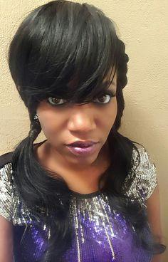 Geisha Miami Dade County Rapper New Black Hairstyles, Miami Dade County, Geisha, Rapper, Celebrities, Hair Styles, Hair Plait Styles, Celebs, Hair Makeup