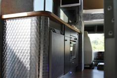 Kitchen Counters in the Helios Kevin Parker horsebox #kevinparkerhorseboxes #horse #horsebox