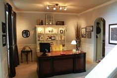 formal dining room turned to home office