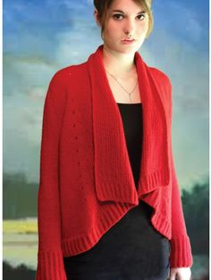 Lithia Park Cardigan Knit Pattern