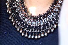 Eli G - New Stuff - Zara necklace http://www.lostinvogue.com/personalstyle/new-stuff