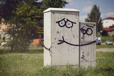 Street Art in Olsztyn Poland 1024x682 Great street art of 2012