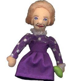 Marie Sklodowska Curie Finger Puppet