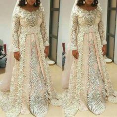 Muslim Wedding Dresses, Saree Wedding, Dress Wedding, Wedding Bride, Morrocan Wedding Dress, Moroccan Kaftan Dress, Different Dresses, Muslim Fashion, Special Occasion Dresses