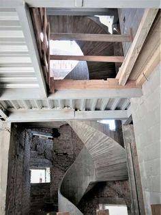 Dna Design, Concrete, Loft, Bed, Building, Furniture, Home Decor, Decoration Home, Stream Bed