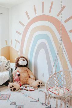 Baby Bedroom, Baby Room Decor, Nursery Room, Kids Bedroom, Nursery Ideas, Room Baby, Room Ideas, Project Nursery, Nursery Wall Murals