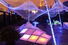 Temporary Canopy and Landscape Installation at MoCA Shanghai