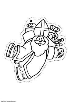 Saint-Nicolas s'accroche à des ballons
