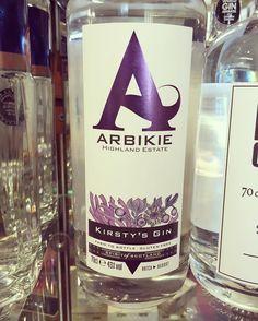 It just had to be bought! @arbikie.distillery @arbikie #kirstysgin  #gin #ginporn #scotland #scottish #scottishgin