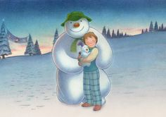 Don't miss The Snowman and the Snowdog grotto at intu Trafford Centre this Christmas! Christmas Books, Christmas Holidays, Father Christmas, Christmas Decor, Merry Christmas, Snowman And The Snowdog, Raymond Briggs, Snowman Wallpaper, Image Halloween