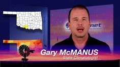 In the Mesonet report, Al Sutherland says there is still moisture in the soil, but plants are dry and burn easily, Gary McManus also shows us how close Oklahoma is returning to drought conditions.