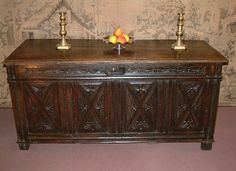 Early Century Oak Coffer C 1620 Antique Furniture, Home Furniture, Furniture Design, Coffer, Get Directions, Saved Items, 16th Century, Carving, The Originals