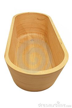 Wooden bathtup for clean and healthy