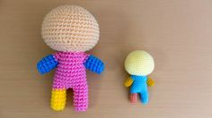 人型あみぐるみ素体の編み方 Crochet Dolls, Tweety, Knitting, Handmade, Character, Inspiration, Crochet Ideas, Amigurumi, Biblical Inspiration