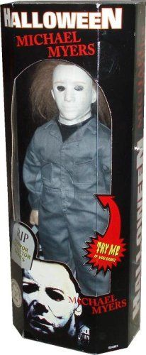 Amazon.com: Halloween Michael Myers RIP Horror Collectors Series: Toys & Games