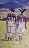 Two Xhosa men dressed for a tribal dance in South Africa African Culture, African History, African Art, Cultures Du Monde, World Cultures, We Are The World, People Of The World, Population Du Monde, Tribal Dance