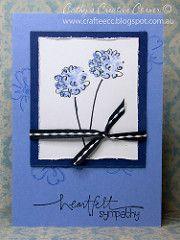 Handmade Sympathy Card-front