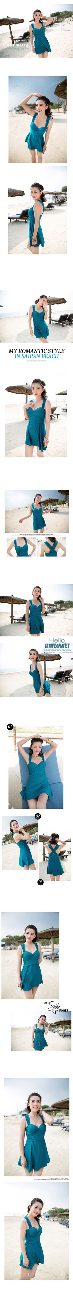 2015 Plus Size M 5XL Women One piece Swimwears Strap Underwired Pad Swimdress with Attached Bottom Cover up Dress-inOne Pieces from Women's Clothing & Accessories on Aliexpress.com | Alibaba Group One Piece For Women, Swim Dress, Swimsuits, Swimwear, Clothing Accessories, Women's Clothing, Cover Up, Plus Size, Clothes For Women