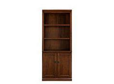 "Carlton II 2-pc. 72"" Bookcase w/ Doors #myrfstyle #sweepsentry"