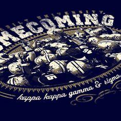 Greek And University Artwork. Homecoming IdeasHomecoming WeekCheer ShirtsSorority  ...