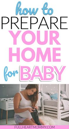 A complete checklist for bringing home your baby. How to prepare your home for your baby's arrival. Things you'll need to do before your baby arrives! Pregnancy Checklist, Baby Checklist, Pregnancy Advice, First Pregnancy, New Mom Quotes, Healthy Pregnancy Tips, Bringing Baby Home, Postpartum Care, Before Baby