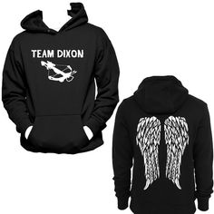 Team Dixon Crossbow and Angel Wings Daryl Dixon by NerdGirlTees